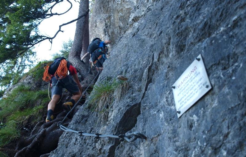 Via Kapf Klettersteig : Kapf 1153m