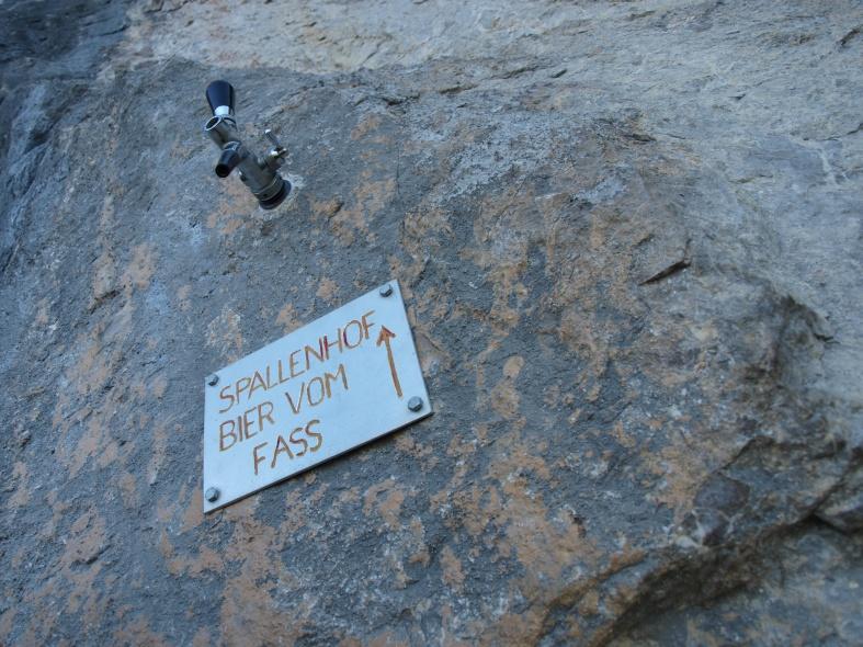 Klettersteig Via Kapf : Kapf m