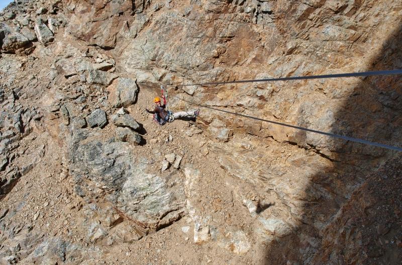 Klettersteig Piz Trovat : Piz trovat ii munt pers m