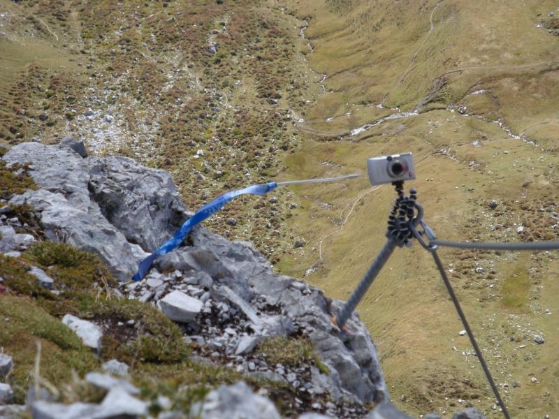 Sulzfluh 2817m - Ameisen in der wand ...