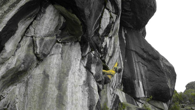 Climbing Zebra Rocks