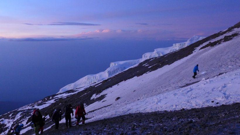Gletscher am Kili