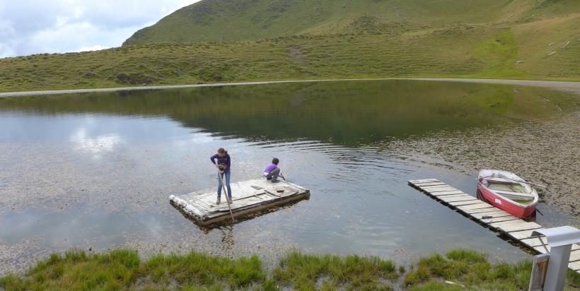 Spass auf dem Carschinasee