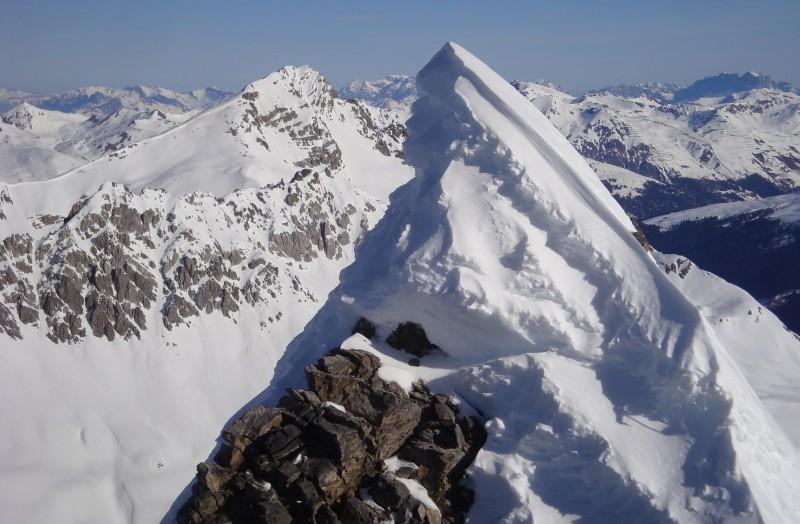 Gipfelwächte Chlein Ducan