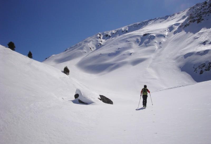 Aufstieg Keschhütte