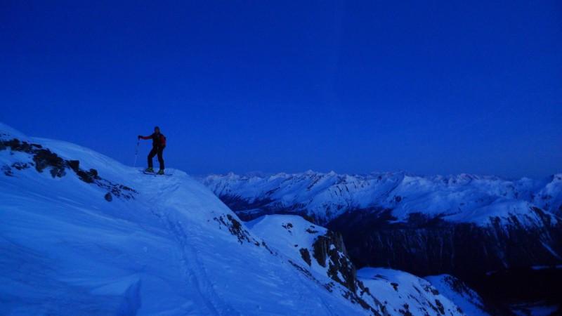 Aufstieg Chrachenhorn