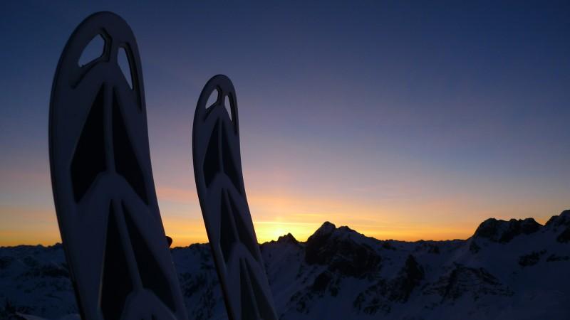 Sunrise Chrachenhorn